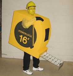 Here is a photo of my son-in-law's Halloween costume. All hand made with cardboard, metal, plastics, etc. He always wins with his unique costumes. Boxing Halloween Costume, Unique Costumes, Homemade Halloween Costumes, Boy Costumes, Couple Halloween Costumes, Group Costumes, Zombie Costumes, Halloween Couples, Family Costumes