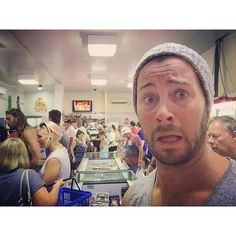 Dan Feuerriegel Craziness at the Seafood Market today. Holiday rush. Mmmm Prawns…