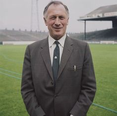 English footballer and manager of Manchester City FC, Joe Mercer posed on the pitch at Maine Road stadium in Manchester in (Photo by Rolls Press/Popperfoto/Getty Images) Joe Mercer, Most Popular Sports, Everton Fc, City Scene, Education Humor, Celebration Quotes, Old Trafford, Arsenal Fc, Manchester City