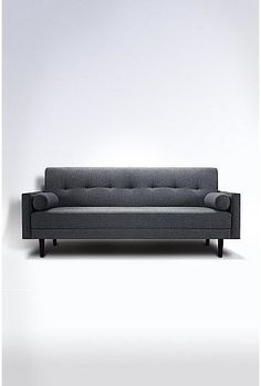 Gray mid-century modern sofa urban outfitters, Night and Day Sofa