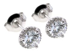 #sparkle | diamond earrings | Hannoush Jewelers