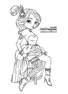 322 best jade dragonne coloring pages