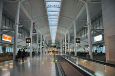 Terminal 1. Pearson International Airport, Toronto, ON.