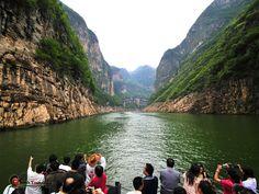 Cruise on the Yangtze river, China
