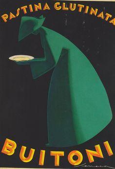 Poster design by Federico Seneca (1891–1976) #posters #design