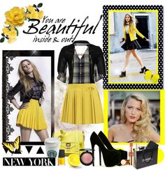 """""""Yellow Mellow"""" by fashionablesam ❤ liked on Polyvore"""