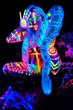 pintura+neon - Buscar con Google