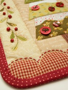 tis the season patchwork pattern ~ cotton life4