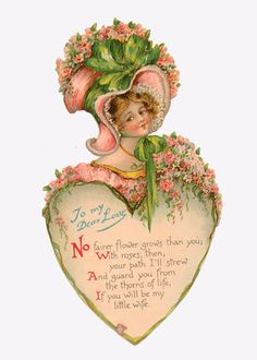 """Vintage """"Will you marry me?"""" card..."""