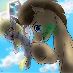 Derpy Whooves and Doctor Who