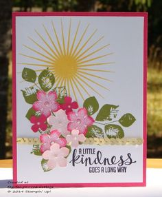 Kinda Eclectic and Petite Petals © Stampin' Up! @ My Tanglewood Cottage