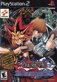 Yu-Gi-Oh Duelist of the Roses Playstation 2 Game W/Free Shipping!