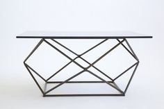 Milo Baughman Geodesic coffee table