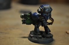 Warhammer 40k Astral Claws Army Space Marines - Devastator with Grav Cannon