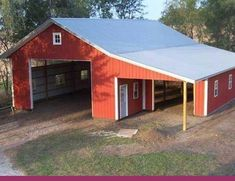 Tips And Ideas For DIY Pole Barn Are you looking for an easy, inexpensive way to add additional storage to your property? If so, a DIY Pole barn homes Pole Barn Shop, Diy Pole Barn, Pole Barn Kits, Pole Barn Designs, Pole Barn Garage, Pole Barn House Plans, Pole Barn Homes, Barn Plans, Shed Plans