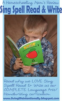 Homeschooling Mom's Review of SING SPELL READ & WRITE - We LOVE it!