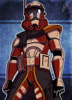 04 - Captain Craith by JoeHoganArt on deviantART