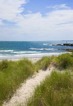 Castle Hill Beach, Newport, Rhode Island, US