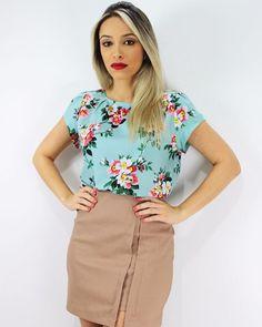 Blusa Zara, sempre um clássico✨ #modafeminina #modaatacado