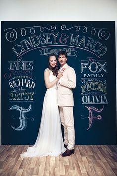 結婚式のDIYのアイデア(BridesMagazine.co.uk)