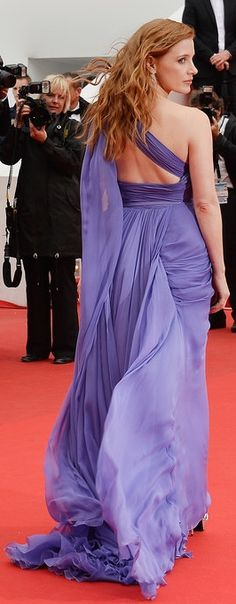 Jessica Chastain's Elie Saab dress.