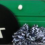 Much Needed Makeover: Emerald Green Dresser
