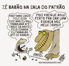 Newton Silva • Chargista Cearense: COÇANDO OS ZÓVOS DO CHEFE