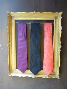 Cravates en soie sauvage ou soie traité pour homme : Cravates par nuagedautomne