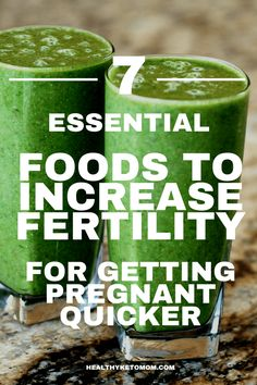 Trying to conceive? Boost your fertility with these 7 foods that are loaded with vitamins and will help you get pregnant quicker. Best fertility boosting foods to conceive faster. #fertility #pregnancy