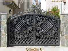 Marvelous Кованые ворота. Iron DoorsIron GatesGate DesignScreen ...