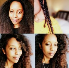 Braid-Out on Blown-Out Natural Hair! #DateNight | Curly Nikki | Natural Hair Styles and Natural Hair Care