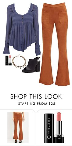 """""""Maya Hart Inspired Outfit"""" by daniellakresovic ❤ liked on Polyvore featuring Forever 21 and Marc Jacobs"""
