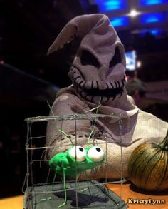 How to make your own Oogie Boogie Costume. This is awesome on so many levels!!