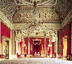 the throne room at buckingham palace
