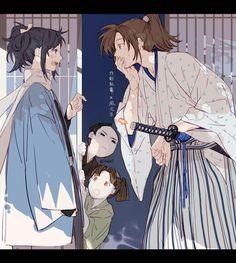 Anime ninjas---I think should be called samurai