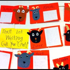 Non fiction stories about real goats during unit about three billy goats gruff