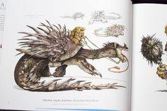 Animals Real and Imagined by Parka81, via Flickr Terryl Whitlatch, Alien Design, Creature Design, Childrens Books, Illustrators, Concept Art, Character Design, Lion Sculpture, Creatures