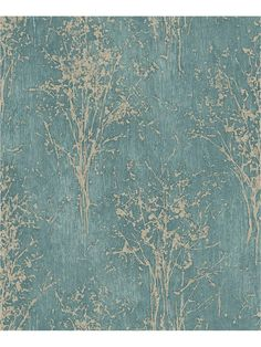 Floresta by Arthouse - Teal : Wallpaper Direct Look Wallpaper, Silver Wallpaper, Embossed Wallpaper, Vinyl Wallpaper, Pattern Wallpaper, Bedroom Wallpaper, Wallpaper Ideas, Feature Wallpaper Living Room, Trendy Bedroom