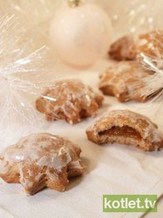 Puff Pastry Desserts, Polish Christmas, Cooking Recipes, Healthy Recipes, Healthy Food, Polish Recipes, Something Sweet, Biscotti, Christmas Cookies