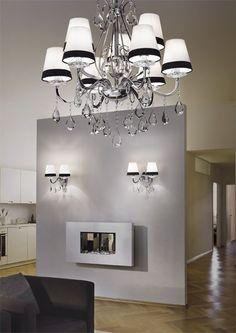 Seria eleganckich lamp DOMUS włoskiego producenta oświetlenia, Ideal Lux