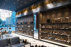 Holt Renfrew store by Janson Goldstein, Toronto   Canada fashion