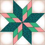 Pattern: Fancy 8-Pointed Star: If you're feeling really ambitious.