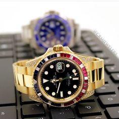 Rolex GMT II custom bezel $24500won't last email us fast