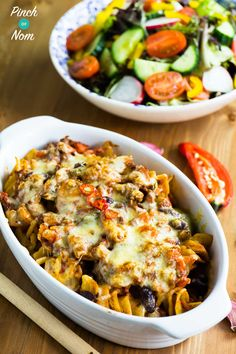 Shopping essntials syn free chilli pasta bake slimming world. Dinner Recipes For Kids, Healthy Dinner Recipes, Diet Recipes, Healthy Snacks, Healthy Eating, Cooking Recipes, Steak Recipes, Recipies, Chilli Pasta
