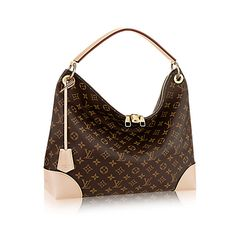 Discover Louis Vuitton Berri MM The Berri hobo is the perfect bag to slip over a shoulder for a youthful, on-trend look. A lightweight model in Monogram canvas, it features rich details. Note the leather corners and keybell as well the cool double zip with a signature LV padlock.