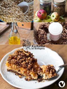 Zkuste tento výtečný a zdravý podzimní moučník. Mandle můžete nahradit vlašskými ořechy a hrozinky brusinkami. Do mixéru vložíme 100 g ovesn...