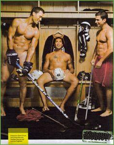 hockey players :) um yes I think I could like hockey!
