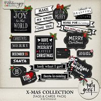 "X-Mas Collection ""Tags"" by Paty Greif"