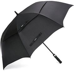 Heavy Duty Umbrella 62 Inch Double Canopy Automatic Open Golf Umbrella Oversize #HeavyDutyUmbrella #HeavyDutyGolf #GolfUmbrella