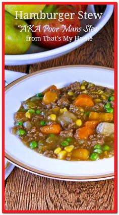 onion soup ground beef recipes-#onion #soup #ground #beef #recipes Please Click Link To Find More Reference,,, ENJOY!! Meat Recipes, Dinner Recipes, Cooking Recipes, Healthy Recipes, Healthy Cooking, Beef Dishes, Food Dishes, Hamburger Stew, Think Food